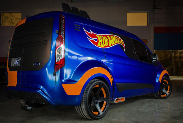 Ford Transit Connect Hot Wheels