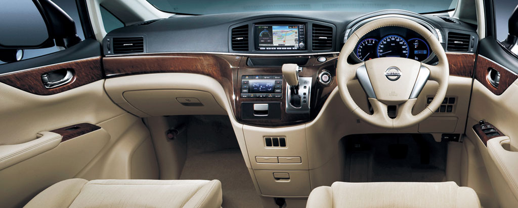 03 Nissan Quest Interior