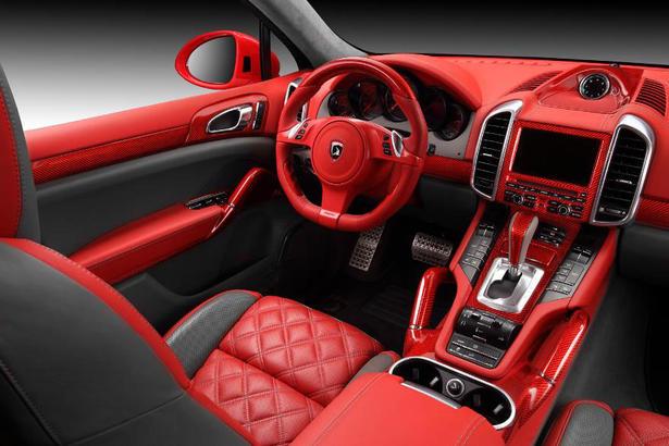 TopCar Porsche Cayenne Vantage 2 Red Dragon