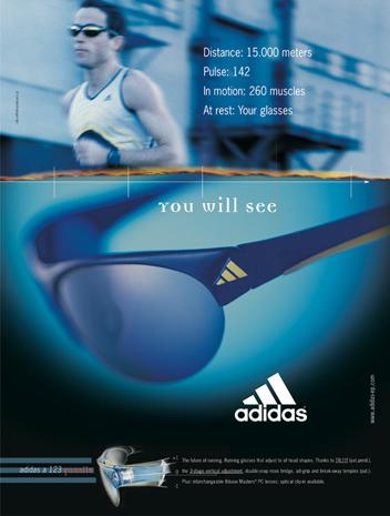 adidas eyewear | Inserat