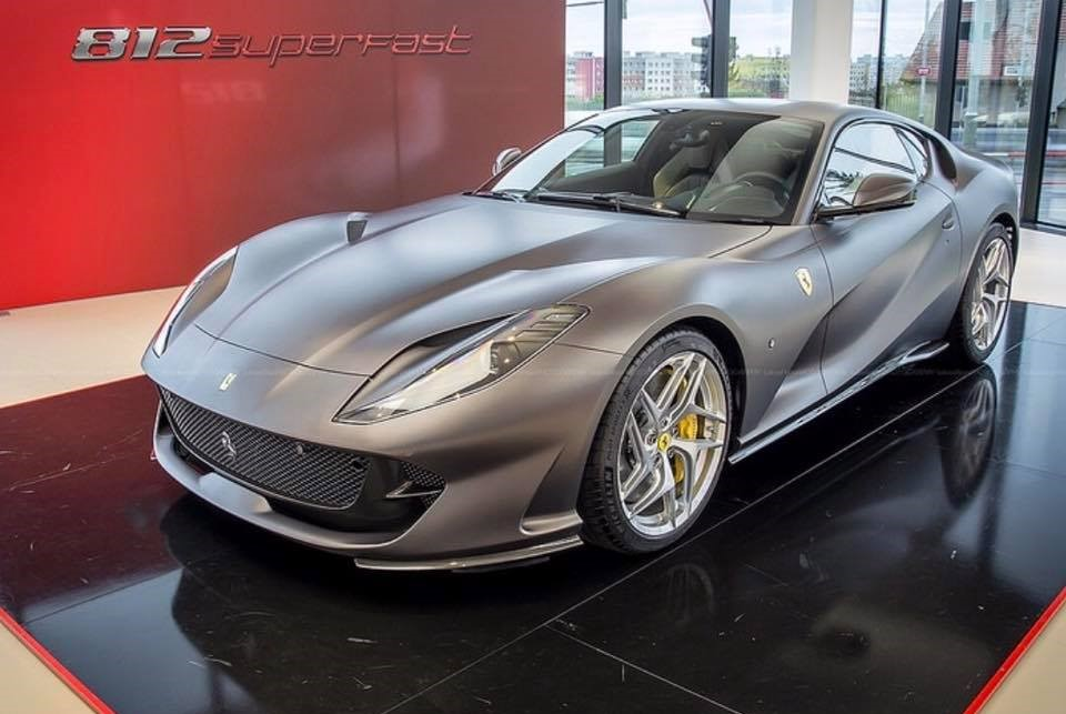 70 Years After The First Ferrari V12 The 812 Superfast