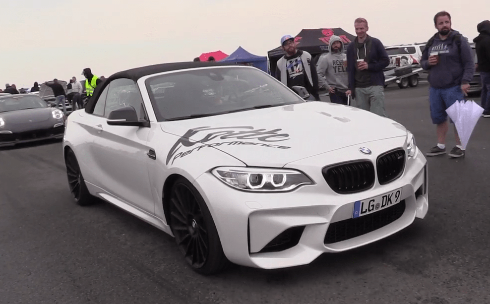 This One Off BMW M2 Convertible Packs 550 Horsepower