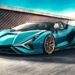 Lamborghini Drop Top On 819 Hp 602 Kw Sian Roadster