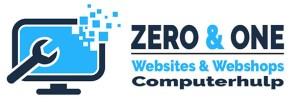 Zero & One Retina Logo voor website header