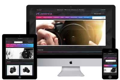 zCamera – Free Opencart Themes