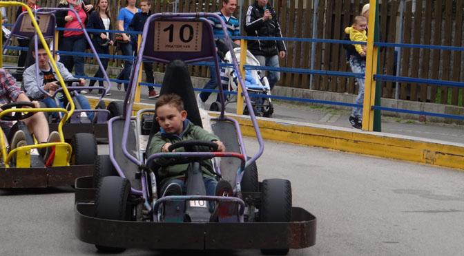 Lucas im Speedrausch