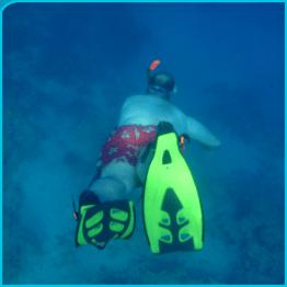 Unterwasser Fettfleck :-)
