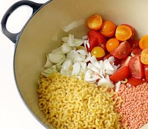 zéro déchet one pot pasta