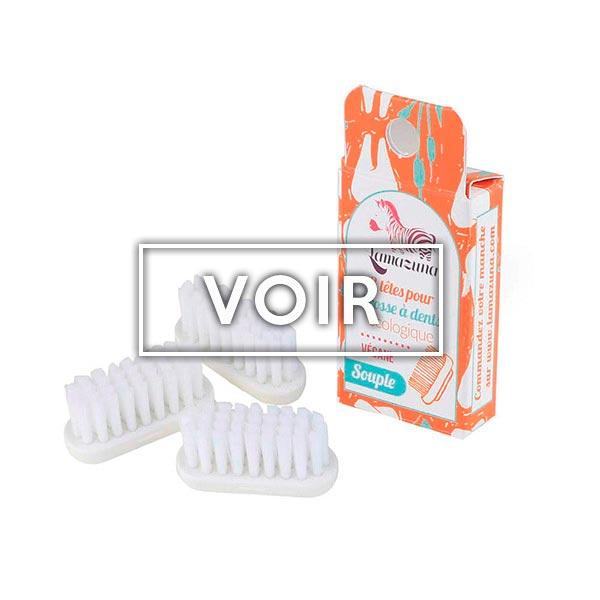 Recharge brosse à dents boutique Objectif zéro déchet