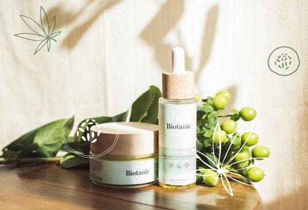 Huile et crème Biotanie