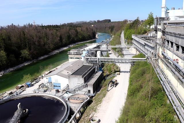 La station d'épuration pour traiter nos eaux sales