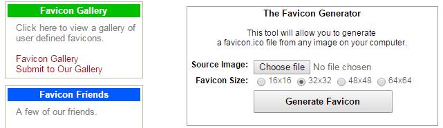 Favicon Generator & Gallery-theexplode