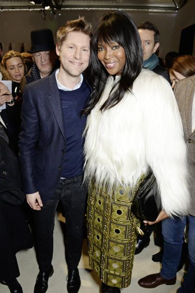 Christopher Bailey  e Naomi Campbell