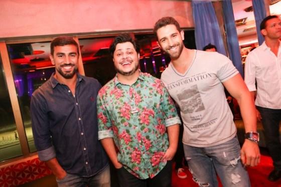 Guilherme Trestini, Marcos Maejella e Jonathan Dobal