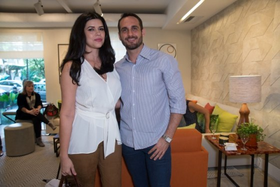 Fernanda Dorta e Jorge Vasconecllos