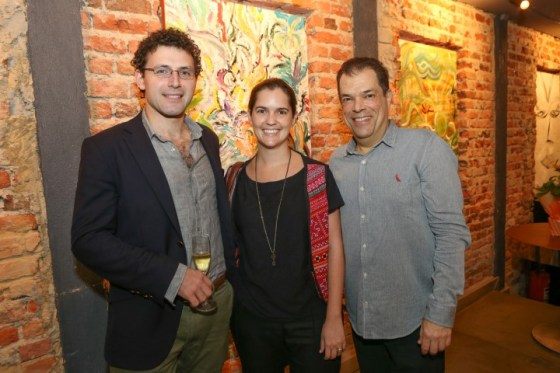 James Farha, Adriana Lacerda e Henrique Jaimovich