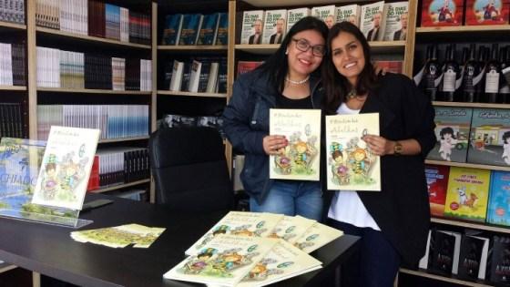 Isa Colli no lançamento em Portugal