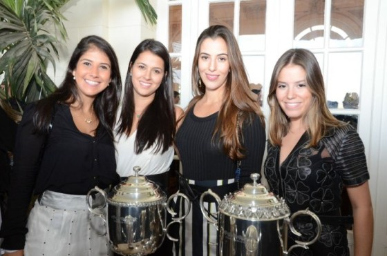 Giuliana Sansone, Marina Baptista, Isabel Taunay e Leticia Zinelli