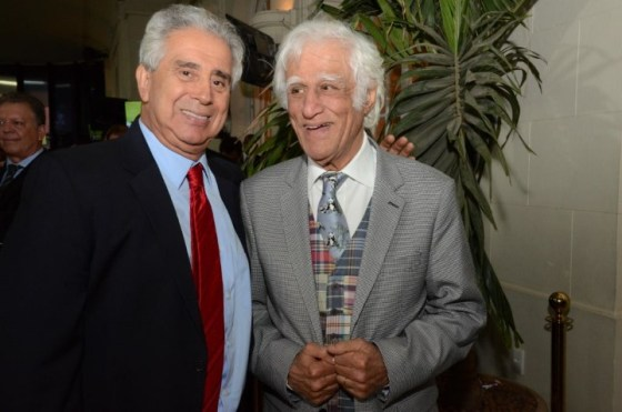 Guilherme Rodrigues e Ziraldo