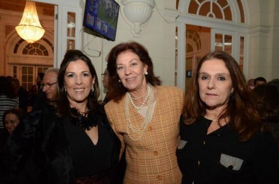 Helena Taunay, Alicia Gayoso e Monica Mangia