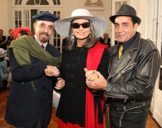 Marcelo Borges, BB Schmitt e Wanderson de Castro