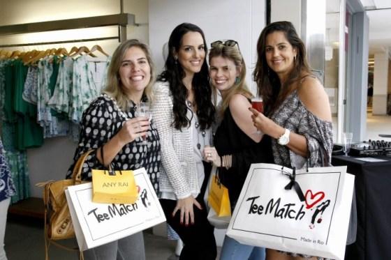 Cristina Apelbaum, Priscila Casz, Gisella Kac e Catia Barroso