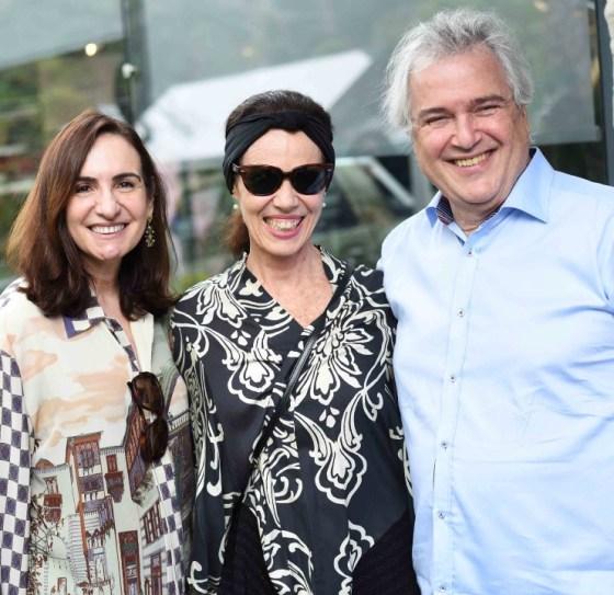 Ana Clara Tenenbaum , Zizi Ribeiro e David Zlyberman