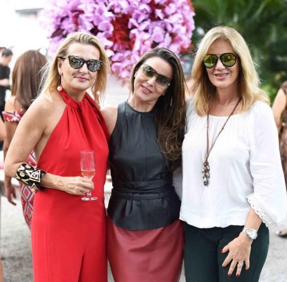 Teresa Simões, Shirlei Maia e Suzana Armburst
