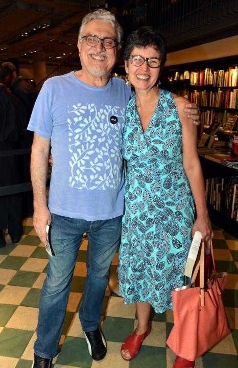 Walter Clemente e Claudia Noronha