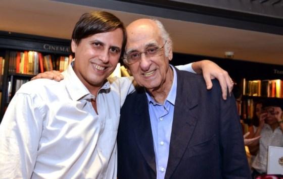 Mauro e Zuenir Ventura