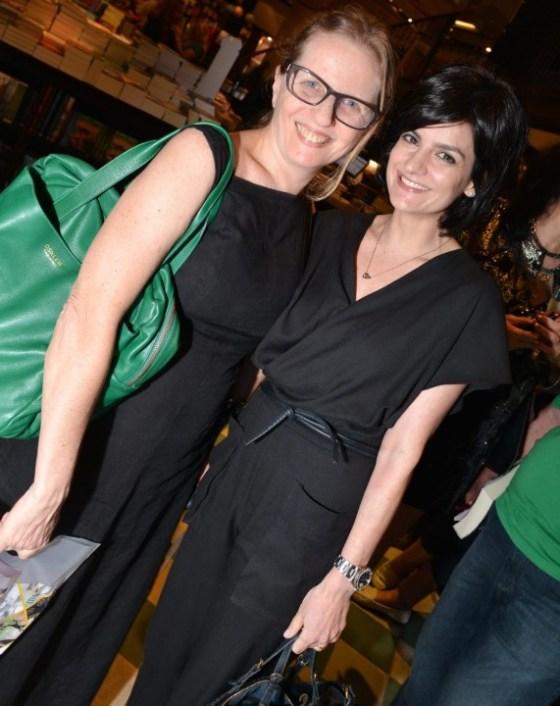 Nana Rubim e Isabel de Luca