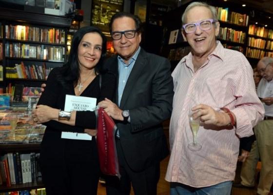 Liliane Rodriguez, Nestor Rocha e Nnelson Hoineff
