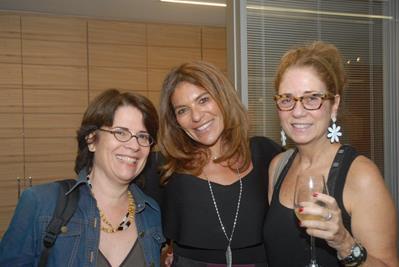 Solange Casotti, Jaqueline Plass e Andrea Granja