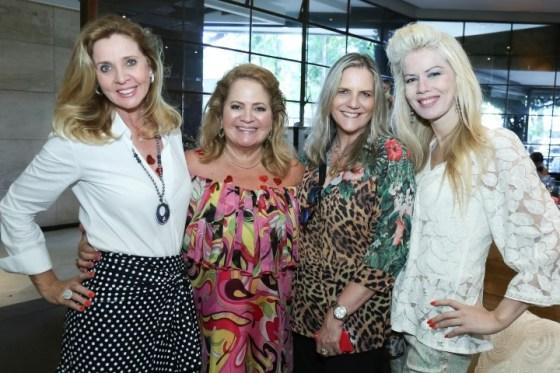 Katia Splavore, Renata Fraga, Maninha Barbosa e Giovanna Priolli