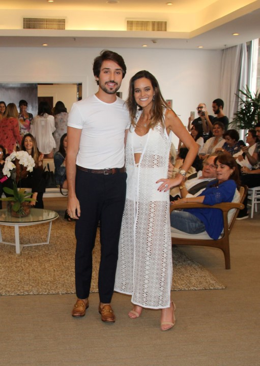 Bruno Candido e Sabine Arias