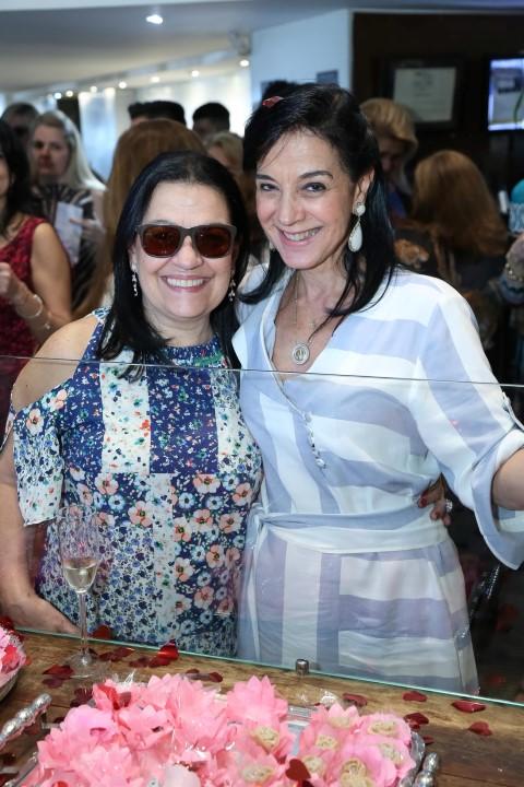 Raquel Resende e Monica Clark