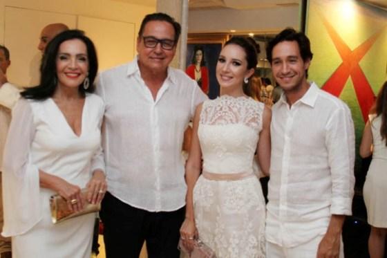 Liliana Rodrigues, Nestor Rocha e Maria castro e Antonio Rocha