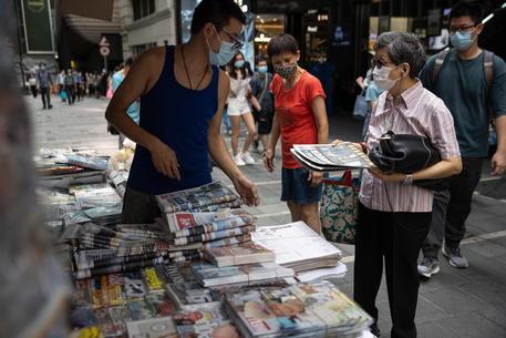 Hong Kong: a ruba le 500mila copie dell'Apple Daily