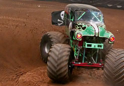 Which monster truck is the biggest and baddest?