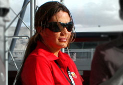 Which female race car driver is the hottest?