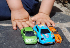 Which was your favorite car-related toy growing up?