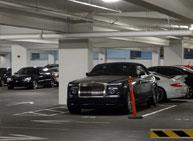 casino guest cars