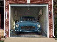 cool garage door murals