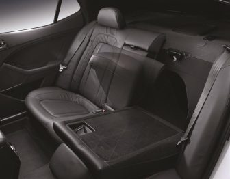 KIA Optima K5 - 135 Rear Seat Back Folding