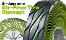 Bridgestone Airless Tyre - 01