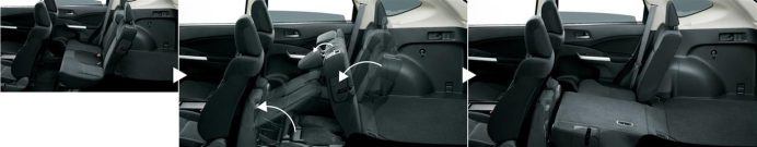 Honda CR-V (2013) - 125 One Motion Foldable Rear Seat