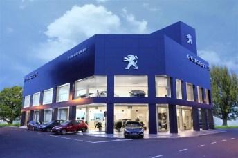 Peugeot Butterworth Showroom