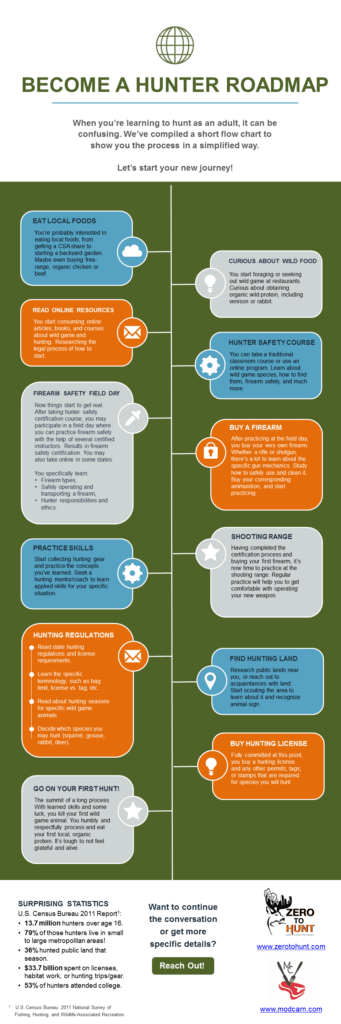 gun safety course infographic