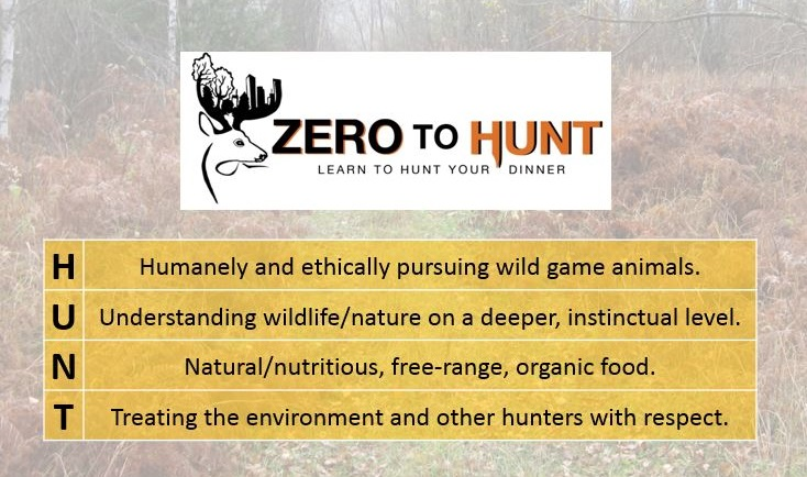 learn to hunt zero to hunt