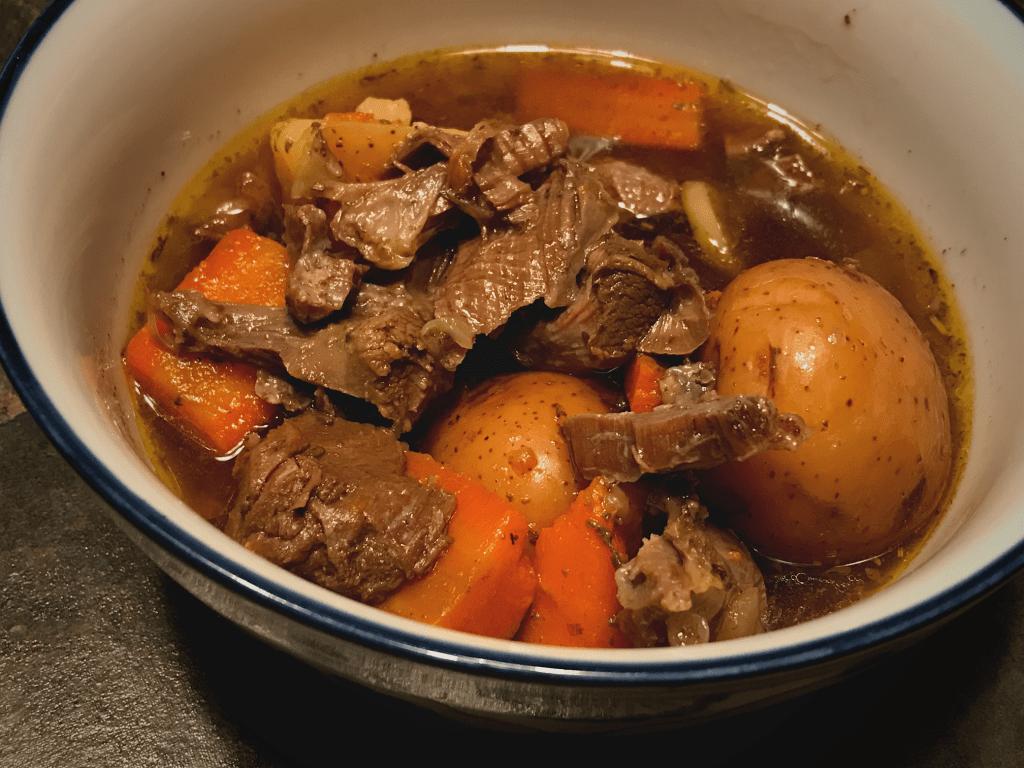 venison shank recipe